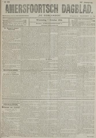 Amersfoortsch Dagblad / De Eemlander 1914-10-07
