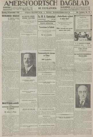 Amersfoortsch Dagblad / De Eemlander 1930-09-30