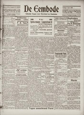 De Eembode 1933-06-09