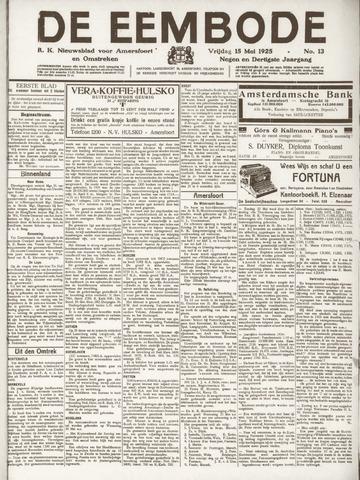 De Eembode 1925-05-15