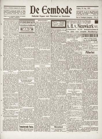 De Eembode 1932-08-26