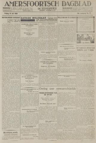 Amersfoortsch Dagblad / De Eemlander 1929-07-19