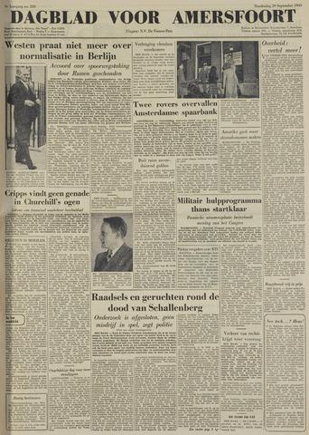 Dagblad voor Amersfoort 1949-09-29