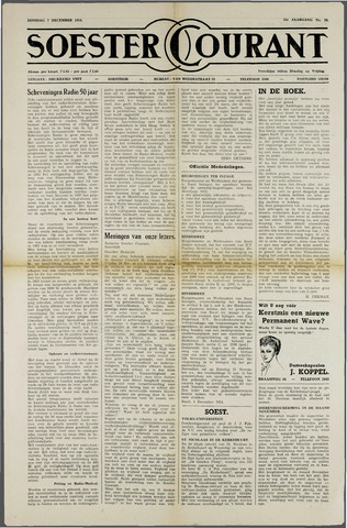 Soester Courant 1954-12-07