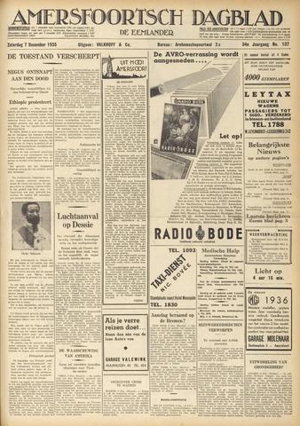 Amersfoortsch Dagblad / De Eemlander 1935-12-07