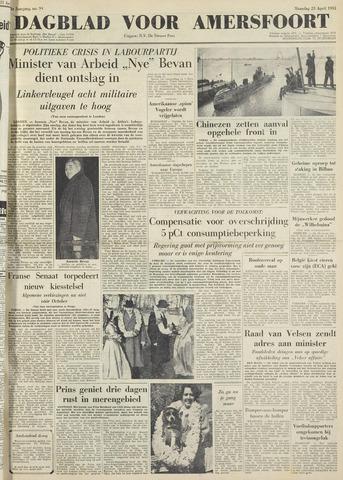 Dagblad voor Amersfoort 1951-04-23
