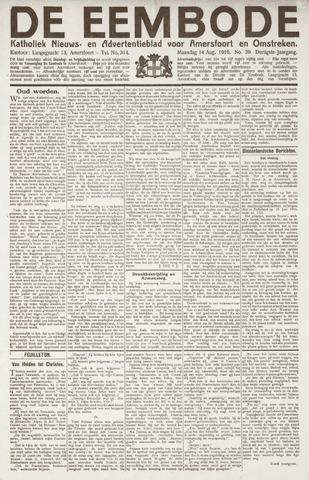 De Eembode 1916-08-14