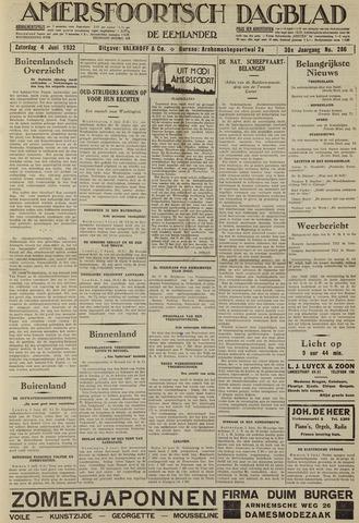 Amersfoortsch Dagblad / De Eemlander 1932-06-04
