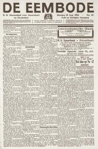 De Eembode 1924-08-12