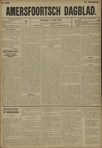 Amersfoortsch Dagblad 1911-04-11