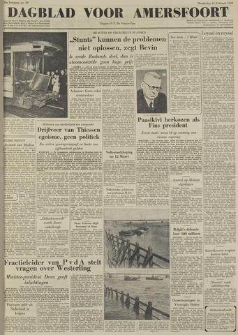 Dagblad voor Amersfoort 1950-02-16