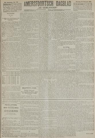 Amersfoortsch Dagblad / De Eemlander 1918-02-19
