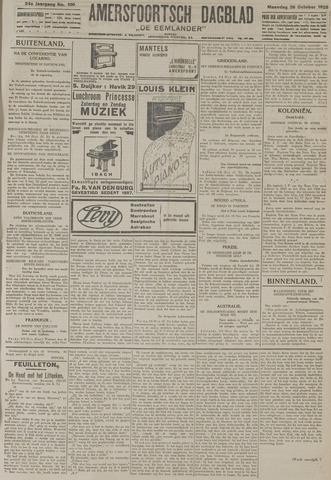 Amersfoortsch Dagblad / De Eemlander 1925-10-26