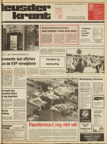 Leusder Krant 1982-08-19