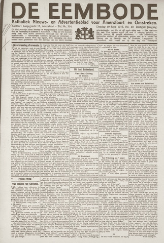 De Eembode 1916-09-19