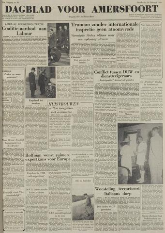Dagblad voor Amersfoort 1950-02-23