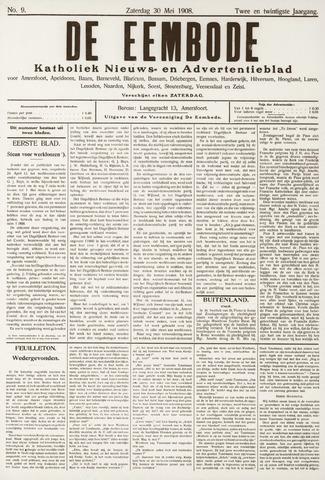 De Eembode 1908-05-30