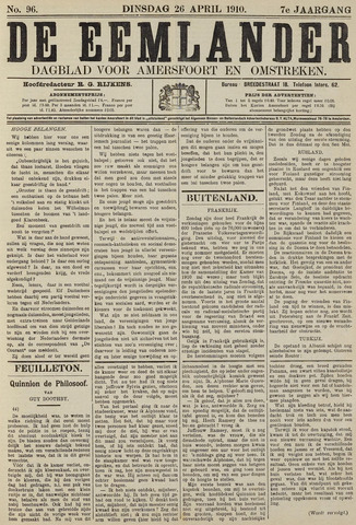 De Eemlander 1910-04-26