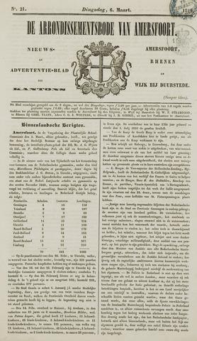 Arrondissementsbode van Amersfoort 1849-03-06