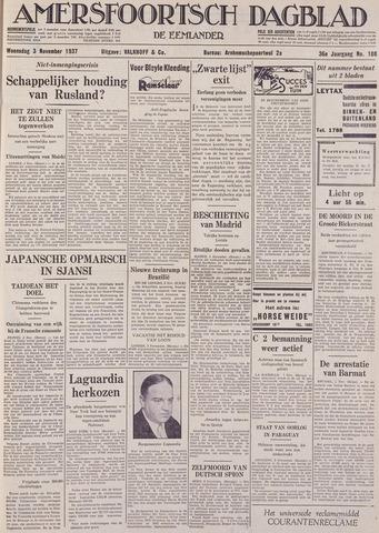 Amersfoortsch Dagblad / De Eemlander 1937-11-03