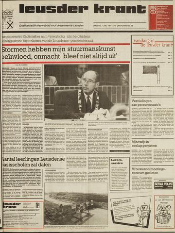 Leusder Krant 1987-07-07