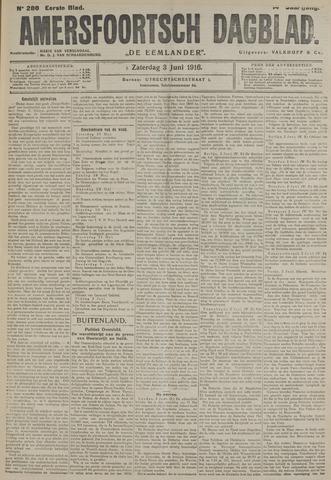Amersfoortsch Dagblad / De Eemlander 1916-06-03
