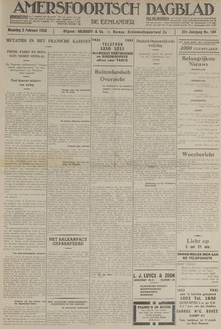 Amersfoortsch Dagblad / De Eemlander 1934-02-05