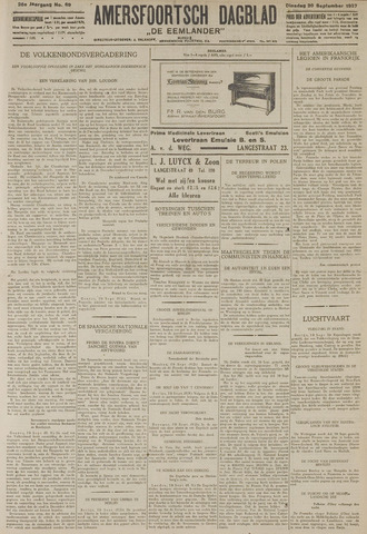 Amersfoortsch Dagblad / De Eemlander 1927-09-20