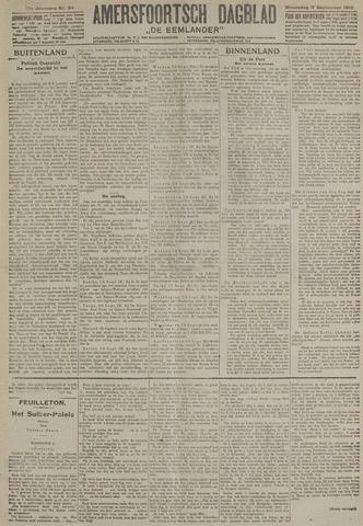 Amersfoortsch Dagblad / De Eemlander 1918-09-11