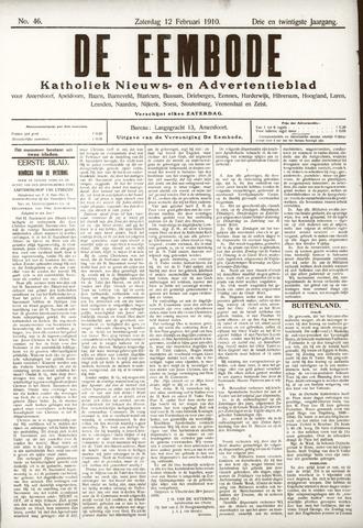De Eembode 1910-02-12
