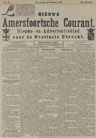 Nieuwe Amersfoortsche Courant 1917-02-28