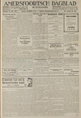 Amersfoortsch Dagblad / De Eemlander 1931-06-29