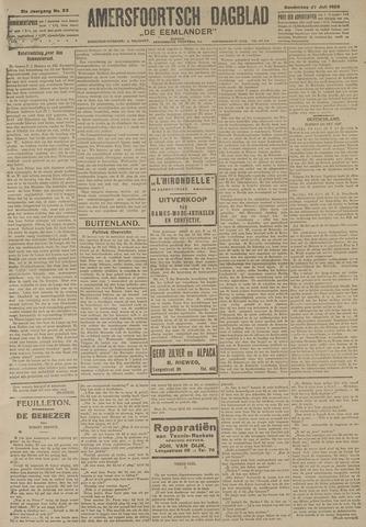 Amersfoortsch Dagblad / De Eemlander 1922-07-27