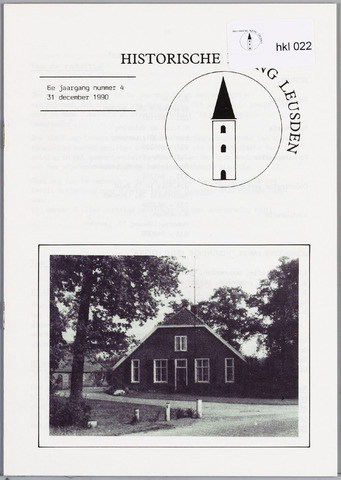 Historische Kring Leusden 1990-12-31