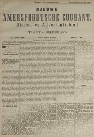 Nieuwe Amersfoortsche Courant 1894-09-19