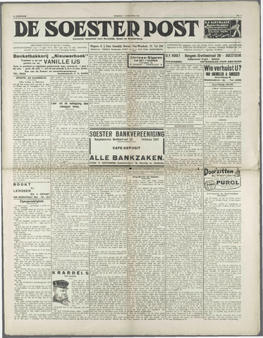 Soester Courant 1931-08-07