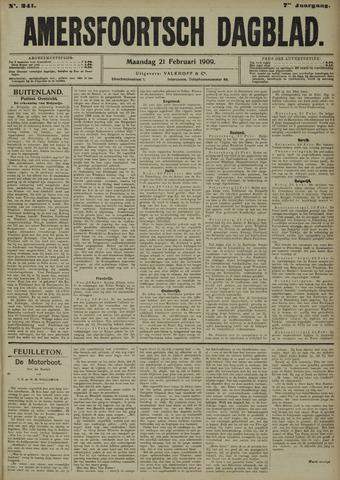 Amersfoortsch Dagblad 1909-02-22
