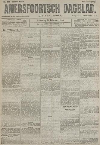 Amersfoortsch Dagblad / De Eemlander 1914-02-21