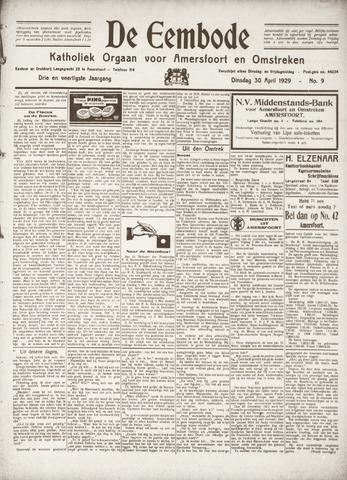 De Eembode 1929-04-30
