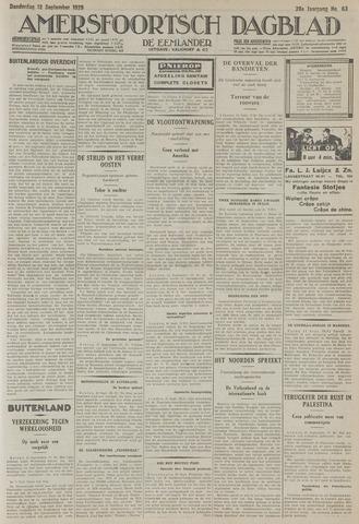 Amersfoortsch Dagblad / De Eemlander 1929-09-12