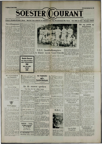 Soester Courant 1966-07-08
