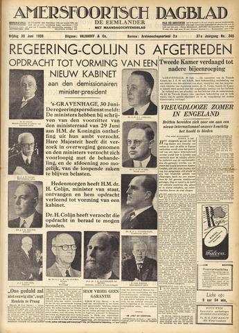 Amersfoortsch Dagblad / De Eemlander 1939-06-30