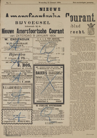 Nieuwe Amersfoortsche Courant 1904-01-13