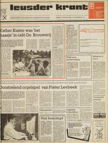 Leusder Krant 1988-08-02