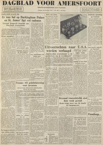 Dagblad voor Amersfoort 1947-11-18