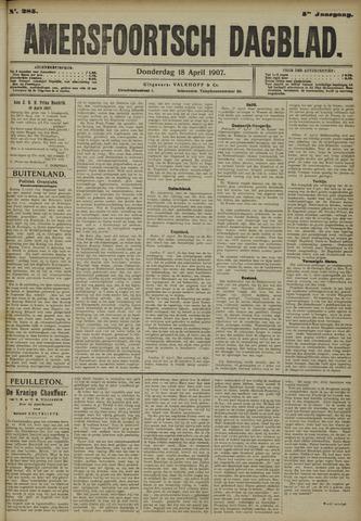 Amersfoortsch Dagblad 1907-04-18