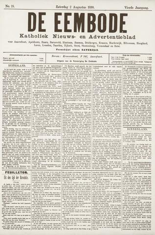 De Eembode 1890-08-02