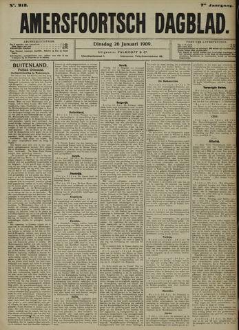 Amersfoortsch Dagblad 1909-01-26