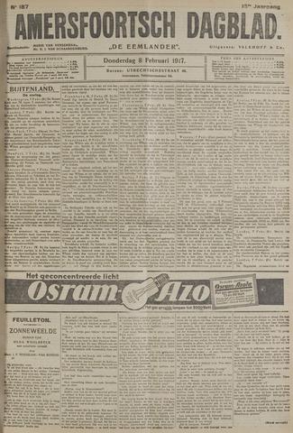 Amersfoortsch Dagblad / De Eemlander 1917-02-08