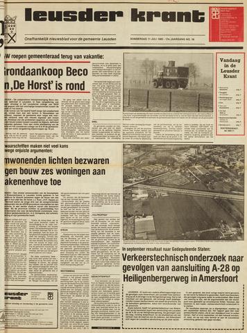 Leusder Krant 1985-07-11
